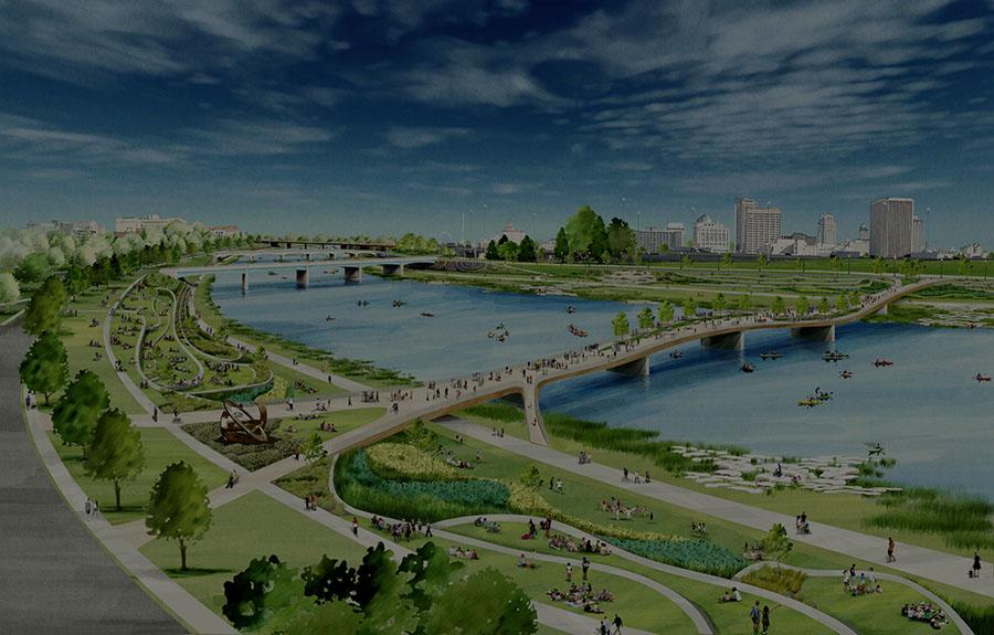 Dayton Riverfront Plan