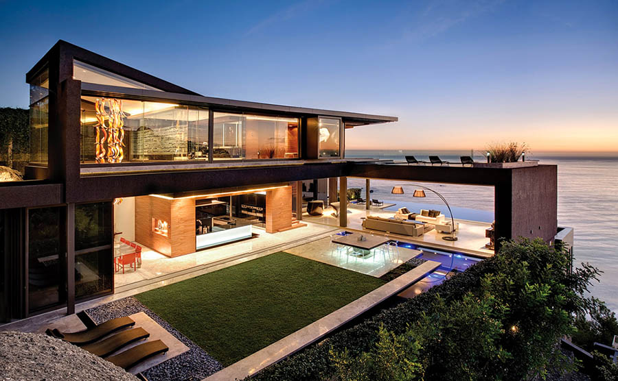 Hillside House offering a breathtaking view