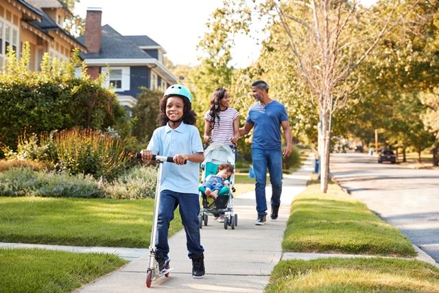 walkable neighborhoods in montgomery county ohio